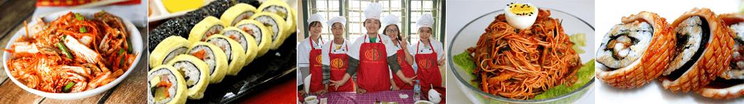 Lớp dạy nấu món Hàn Quốc ở Hà Nội