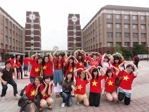 Du học sinh việt nam tại Đài Loan