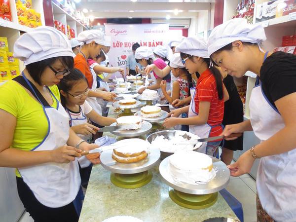 Trung tâm đào tạo kỹ thuật làm bánh kem ở Hà Nội