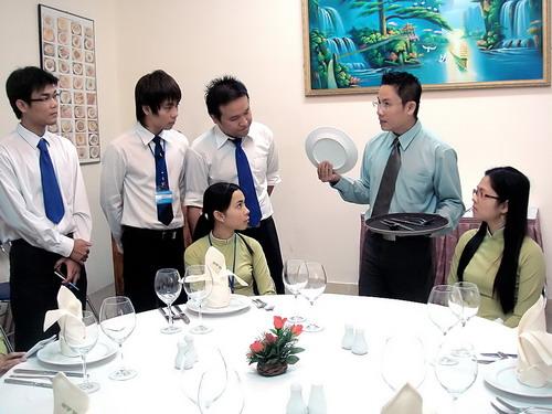 Hình ảnh lớp học nghiệp vụ quản lý khách sạn tại hà nội chuyên nghiệp