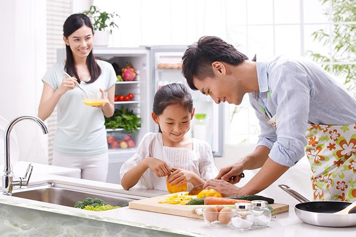 Lớp học nấu ăn gia đình cơ bản và nâng cao