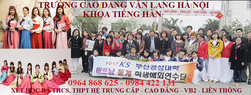 Tuyển sinh ngành tiếng Hàn chuyên nghiệp